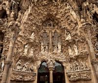 Gaudí's Sagrada FamÍlia, Barcelona